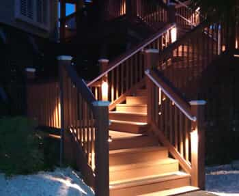 Deck Lighting To My Stairs