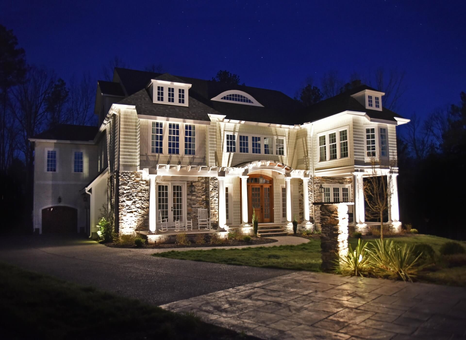 Residential Landscape Lighting | Outdoor Lighting Company