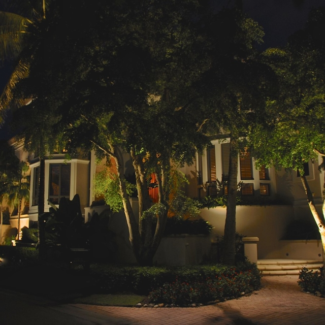 Outdoor Lighting Perspectives Of Naples