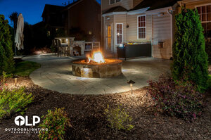 Backyard lighting from Chicago outdoor lighting company, Outdoor Lighting Perspectives