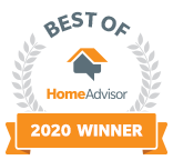 Badge for Award for Best of 2020 From Home Advisor