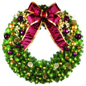 4 foot traditional wreath