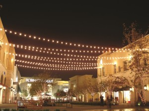 victoria gardens string lighting commercial