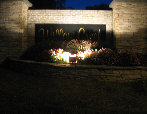 commercial entrance lighting