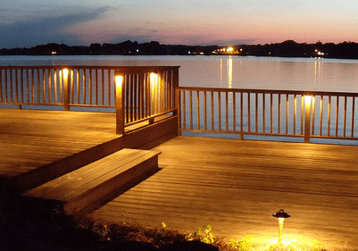 Deck Lighting Is Essential For Deck Safety