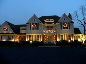 holiday residential home lighting accents