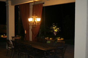 kansas city client porch lighting
