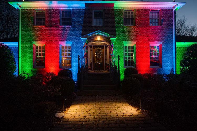 St Louis Led Color Landscape Lighting