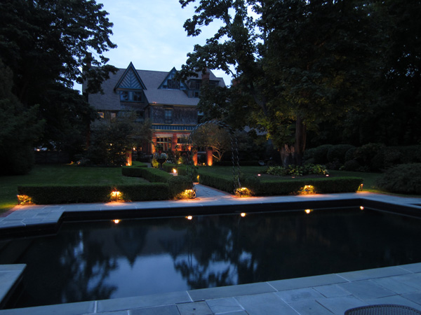 pool lighting rhode island home