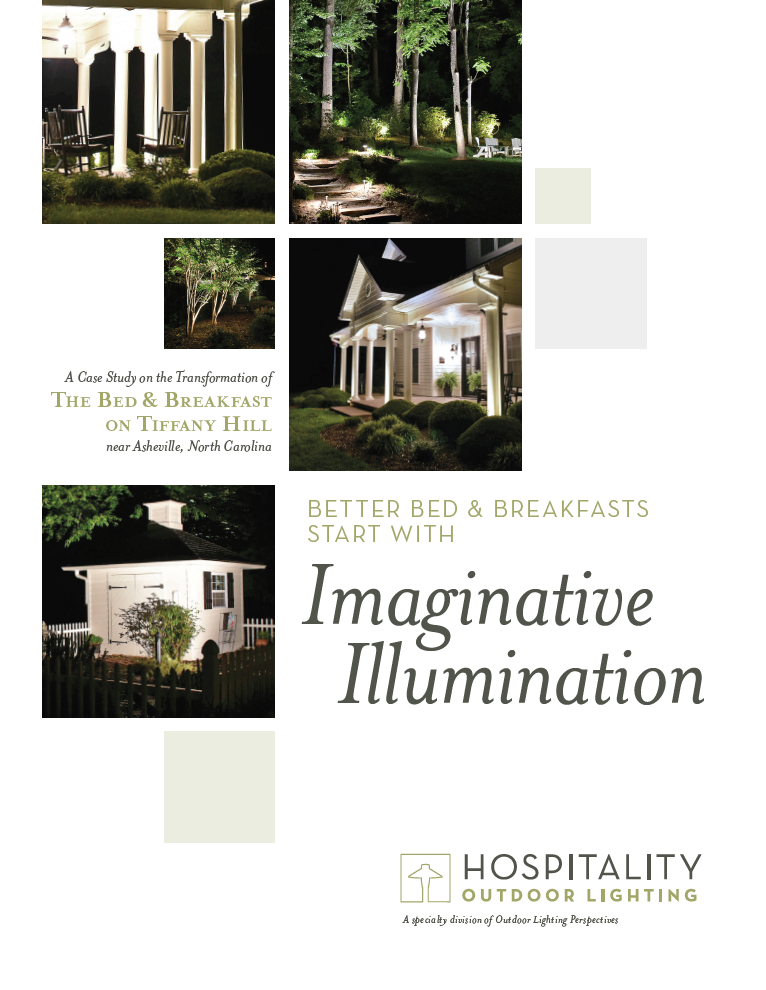 Tiffany Hill Bed And Breakfast Cast Study Cover