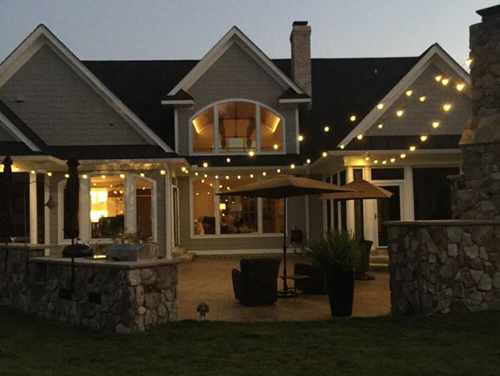 Decorative Outdoor String Lighting