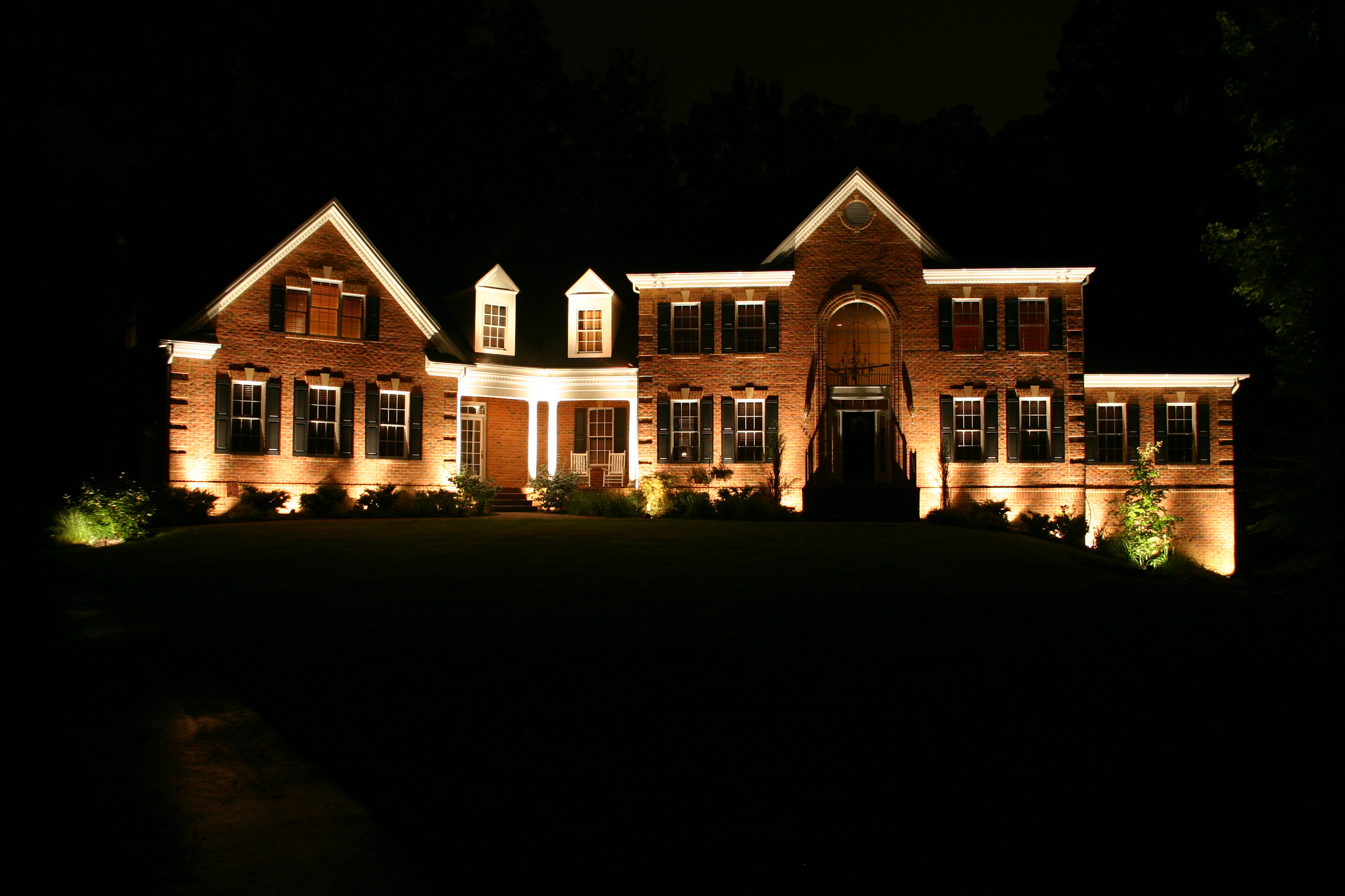 Front of home lighting