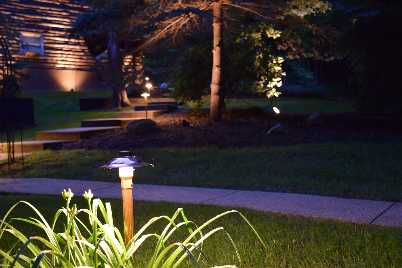 landscape lighting in Blacklick OH