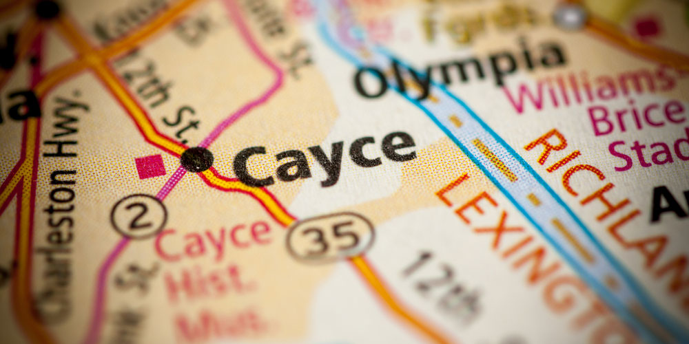 Map of Cayce
