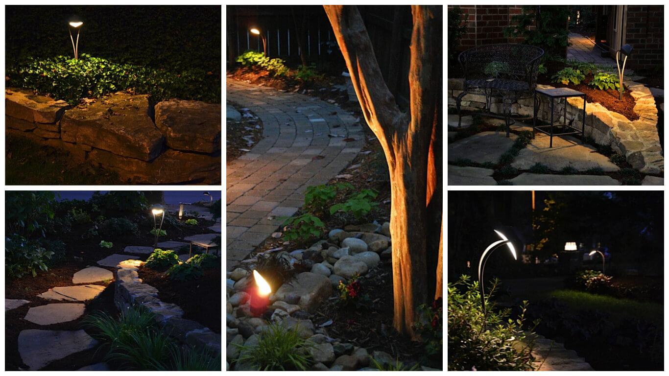 Various landscape lighting