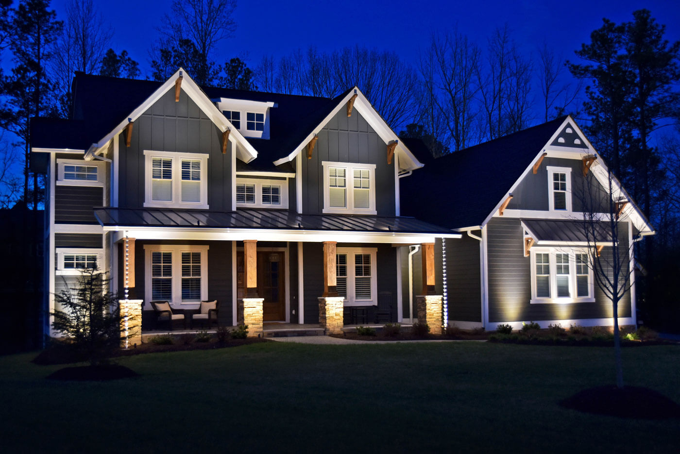 Outdoor Home Lighting In Charlotte Olp Charlotte