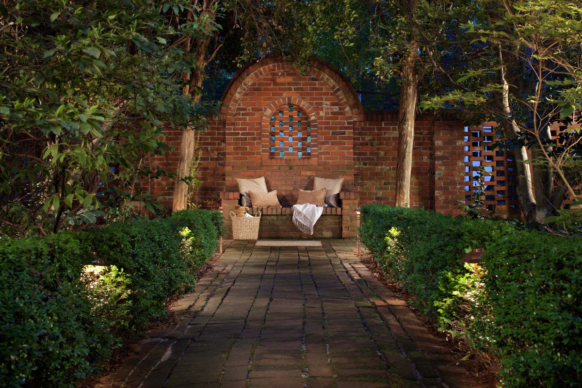 Patio outdoor lighting design