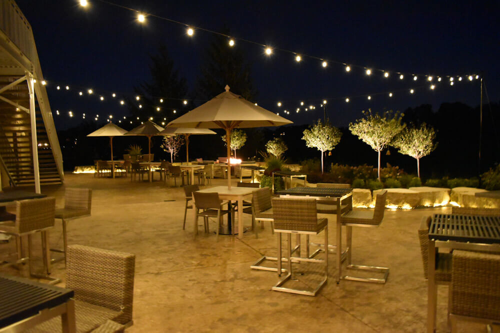 commercial outdoor lighting for patios