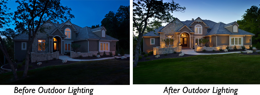 outdoor lighting installer in Nesbit MS