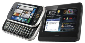 Sidekick Phone and Tablet Side By Side