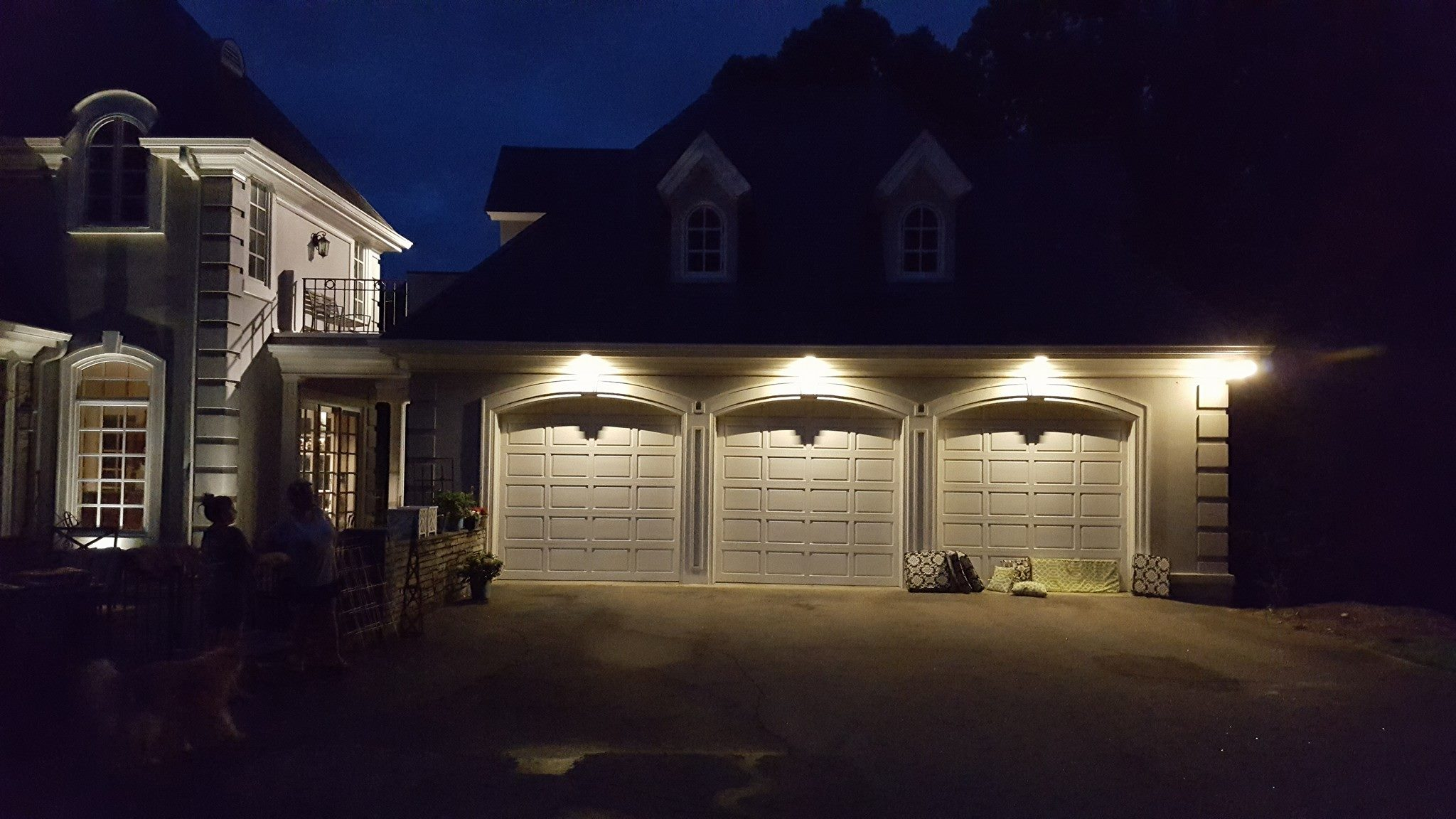 outdoor lighting in Apex NC