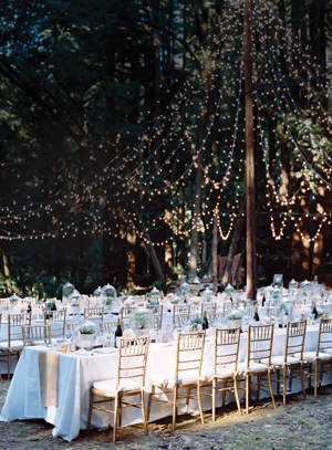 Wedding with specialty lighting