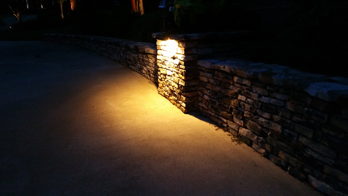 Under-mounted Patio Lighting