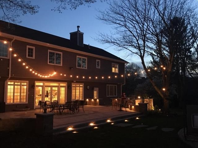 Outdoor Suffolk County lighting in South Hampton, NY