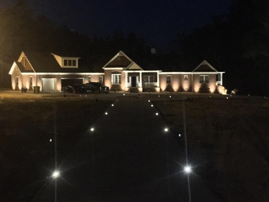 Recessed Driveway Lighting
