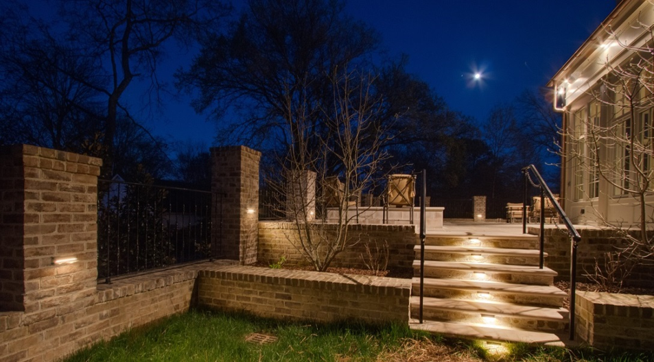 stair and landscape lighting