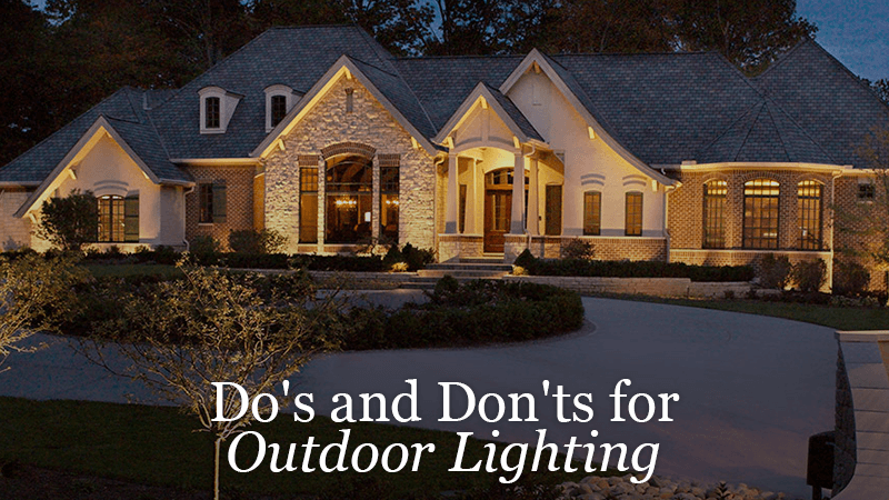 How To Do Outdoor Lighting