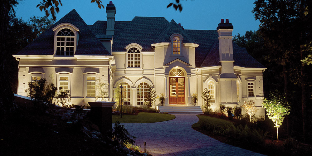 Residence with specialty lighting