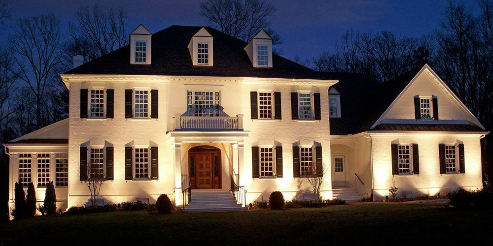 Residence with special lighting