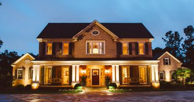 Outdoor lighting in Richmond & Charlottesville