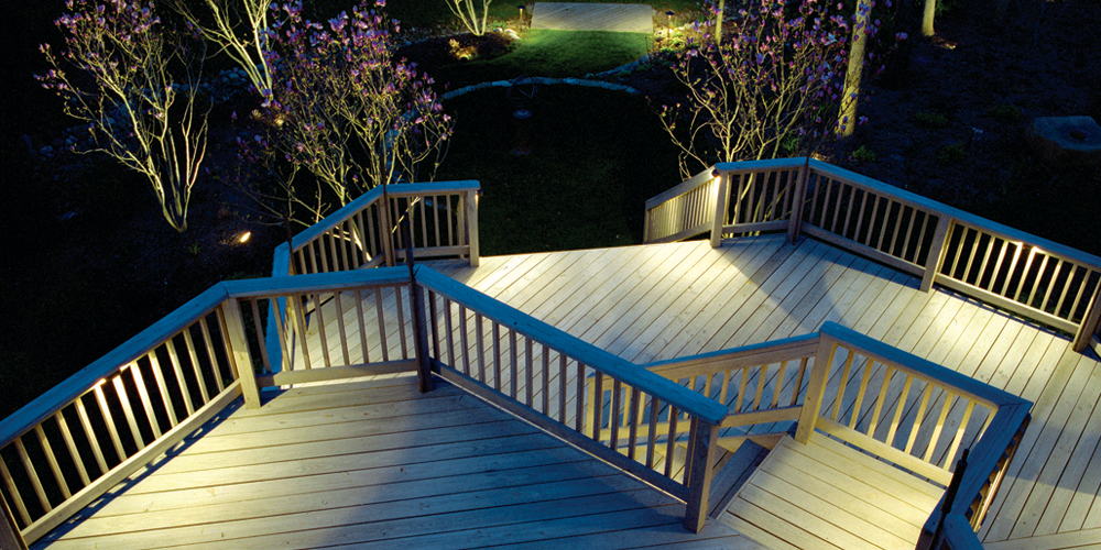 deck lighting in Wake Forest
