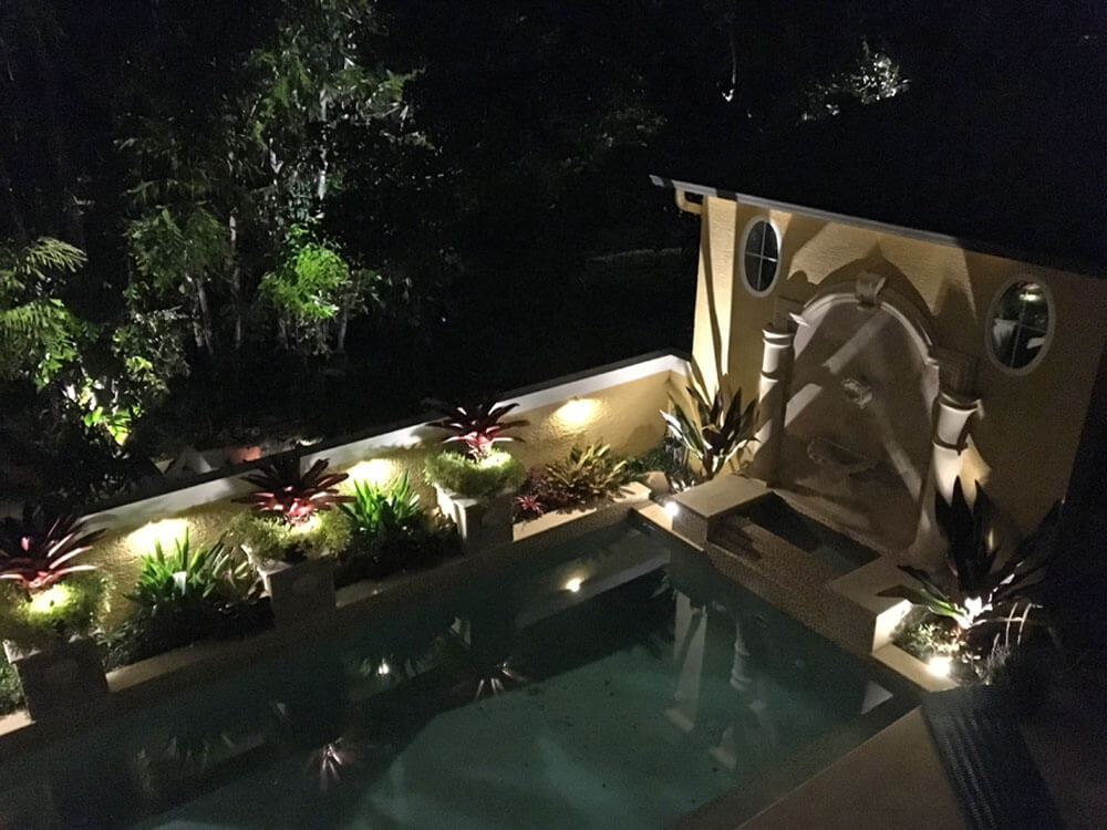 Pool Area Lighting