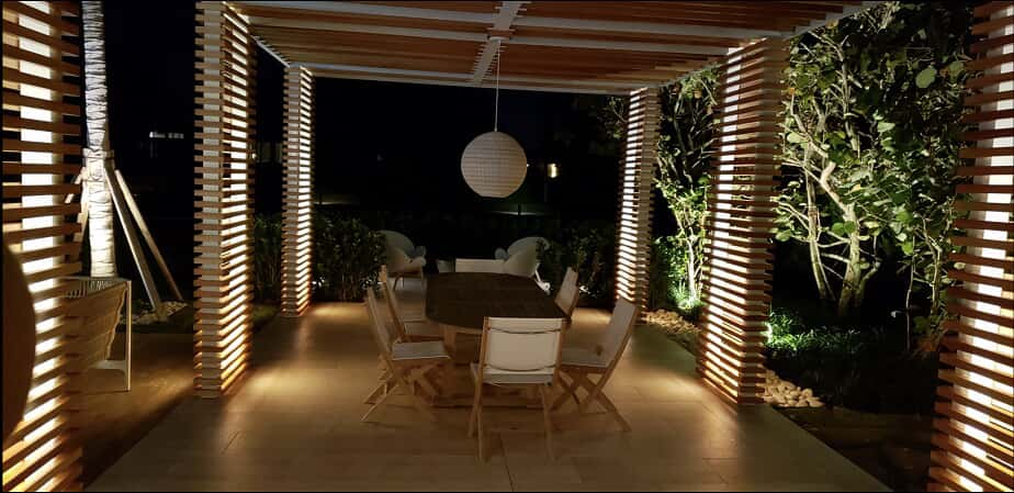 pelican bay pergola lighting