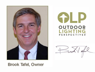 Brook Tafel owner of Louisville outdoor lighting perspectives