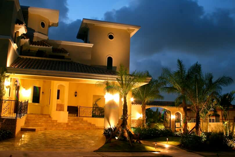 front entry lighting for residences in clearwater