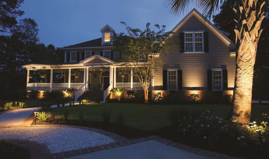 residential illumination and outdoor lighting