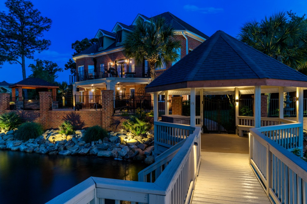 Deck and Porch Lighting