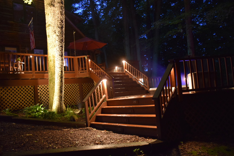 deck lighting company Chagrin Falls Ohio