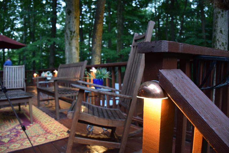 deck lighting Solon Ohio