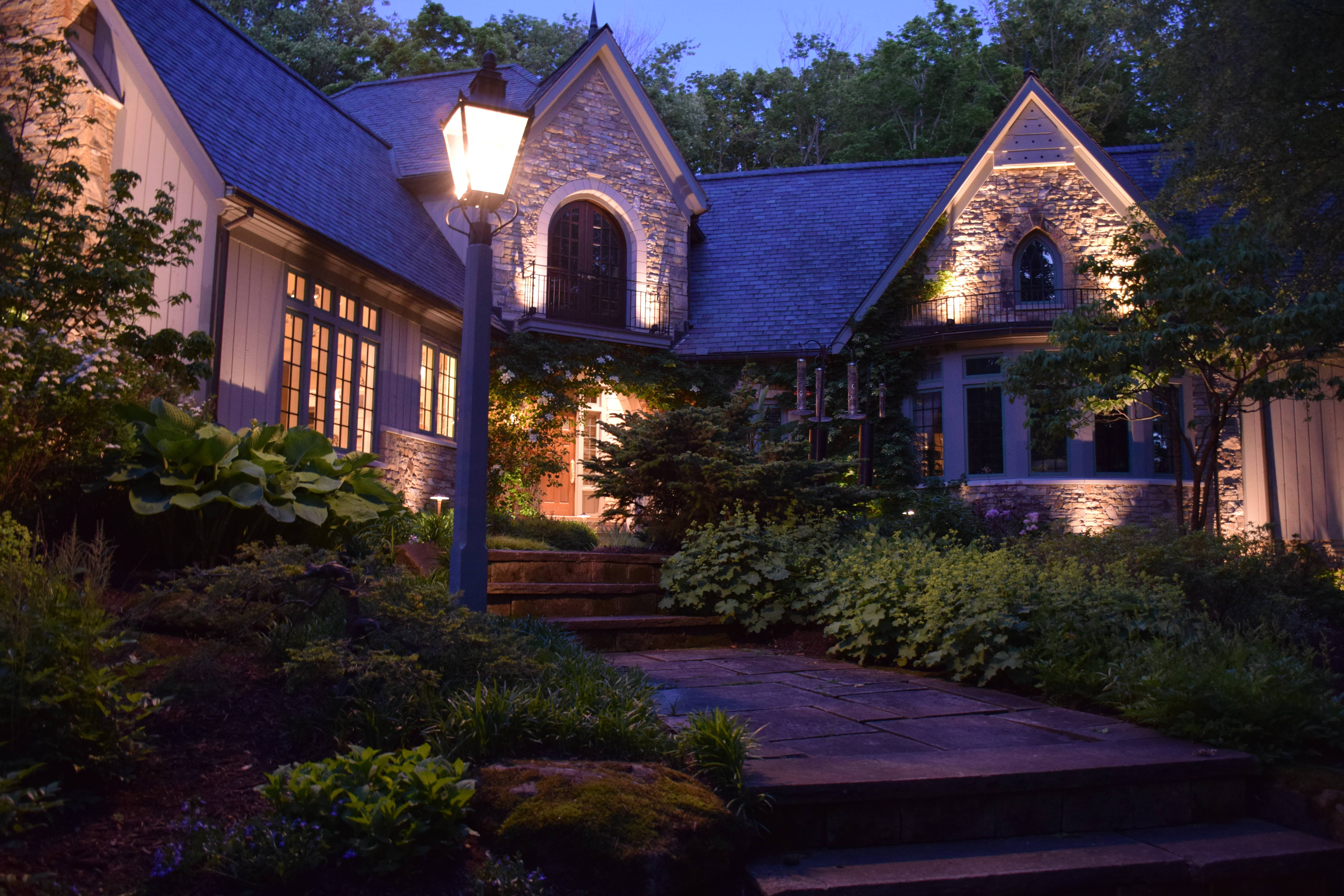 outdoor lighting Westlake Ohio