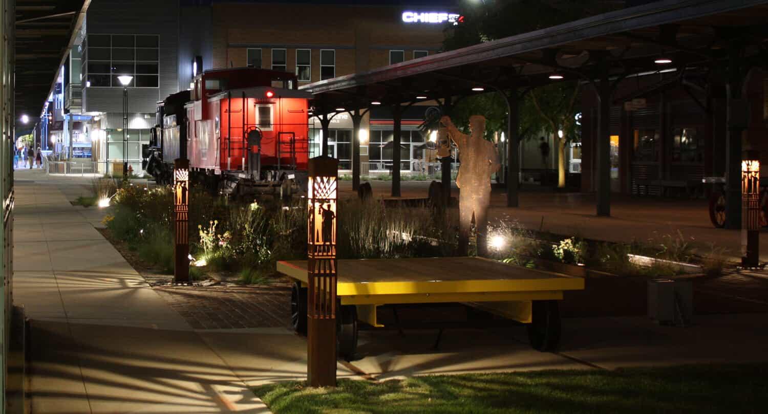custom bollards at outdoor lighting perspectives of chattanooga