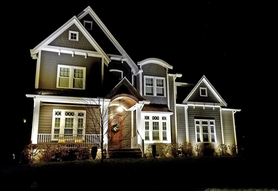 stunning LED residential outdoor lighting