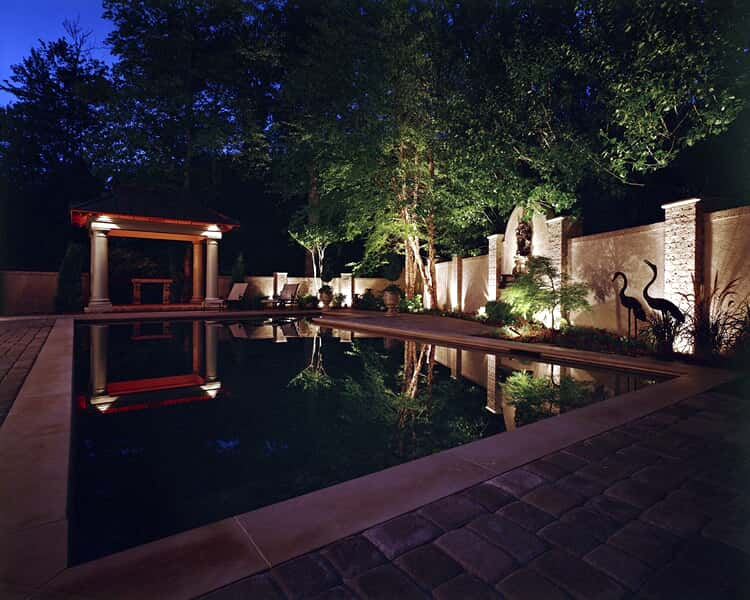 ambient pool lighting