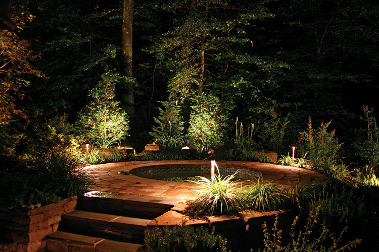 outdoor lighting ideas near me