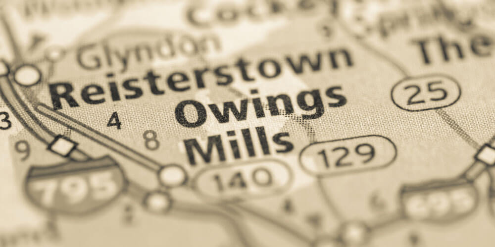 Owings Mills Map