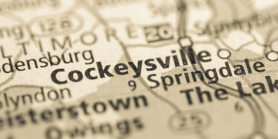Cockeysville on a map
